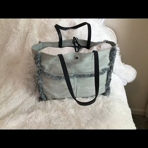 Kate Spade Sam Denim large tote